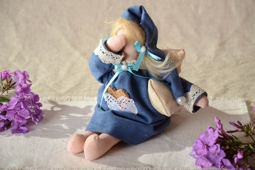 Handmade Toy Eco friendly Home decoration designer children Gift ideas Doll - MADEheart.com