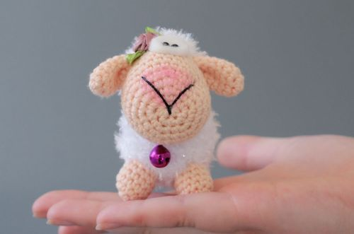 Soft toy made from cotton and wool - MADEheart.com