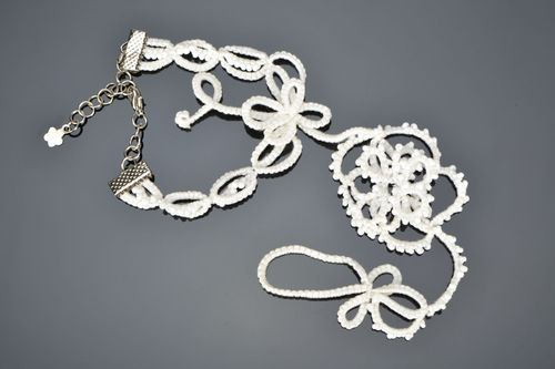 Tatting necklace - MADEheart.com