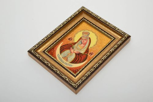Reproduction of Orthodox icon of the Ostrobramska Mother of Mercy  - MADEheart.com