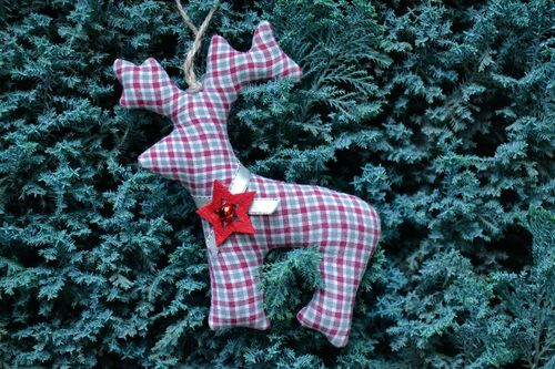 Christmas toy Deer - MADEheart.com