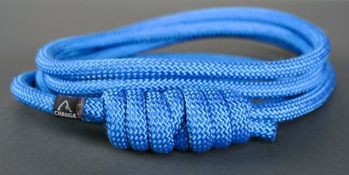Rope with a knot for yoga practice  - MADEheart.com