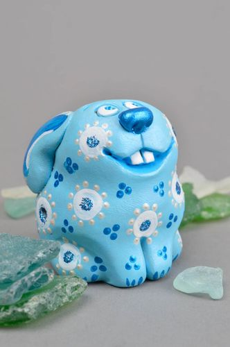 Handmade clay toy whistle gift for baby interior statuette nursery decor ideas - MADEheart.com