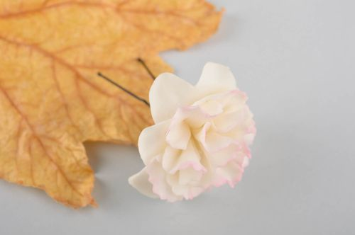 Handmade flower hairpin hair accessories delicate hairpin for girls fashion pins - MADEheart.com