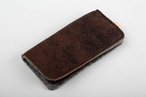 Women card holder handmade leather accessories designer purse for girls - MADEheart.com
