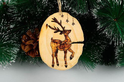 Elegant Christmas ideas wooden Christmas decor home decor decorative use only - MADEheart.com