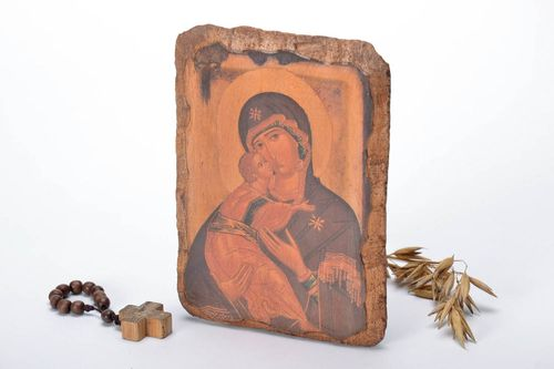 Icon reproduction The Mother of God of Vushgorod - MADEheart.com