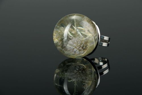 Ring with natural plants - MADEheart.com