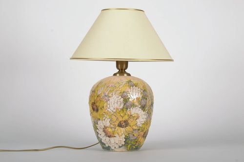 Ceramic night light Sunflowers - MADEheart.com