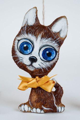 Scented handmade soft toy unusual stuffed toy for children wall hanging ideas - MADEheart.com