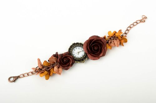 Designer accessories handmade wrist watch womens wrist watch fashion jewelry - MADEheart.com