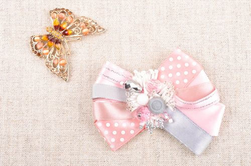 Handmade bow brooch designer brooch pin fashion accessories for girls - MADEheart.com