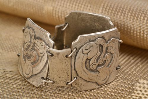 Womens bracelet with ethnic design Panther - MADEheart.com