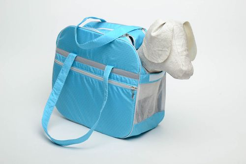 Homemade dog carry bag - MADEheart.com