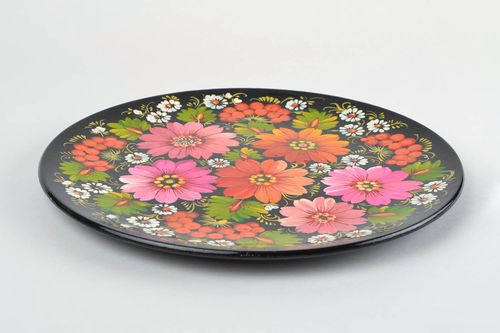 Large plate handmade wooden plate homemade home decorations housewarming gifts  - MADEheart.com