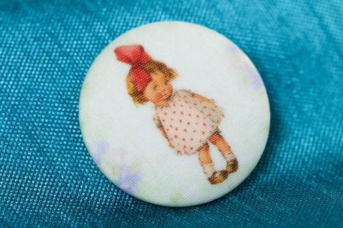 Designer brooch handmade fabric brooches fashion accessories trendy bijouterie - MADEheart.com