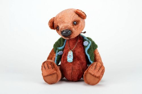 Plush bear - MADEheart.com