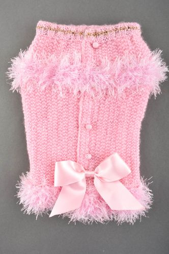 Knitted clothes for pets clothes for dogs unusual present designer suit for dogs - MADEheart.com