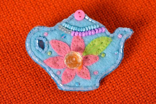 Handmade jewelry brooch jewelry fashion accessories childrens jewelry kids gifts - MADEheart.com