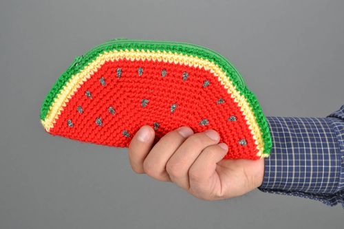Crocheted purse Watermelon - MADEheart.com