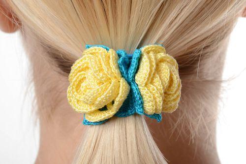 Резинки вязаные для волос