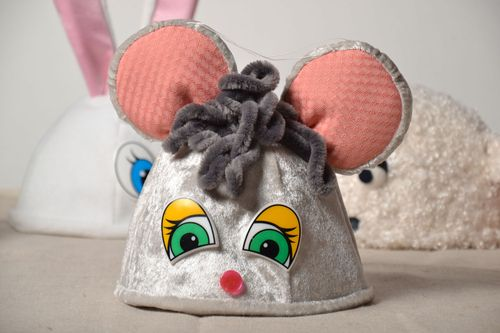 New Year hat for child Mouse - MADEheart.com