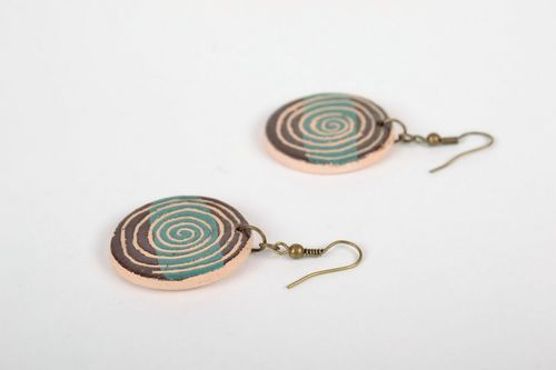Ceramic earrings - MADEheart.com