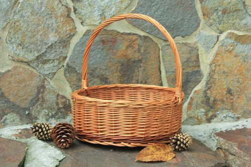 Basket with handle  - MADEheart.com