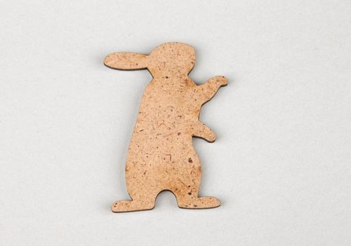 Wooden chipboard Hare - MADEheart.com