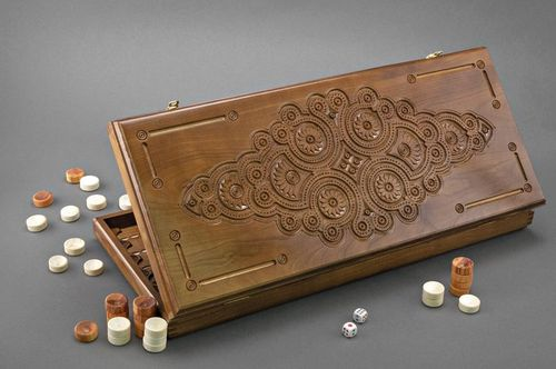 Game set Backgammon - MADEheart.com