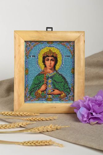 Ortohodox icon carved icon family icon orthodox gift handmade gift ideas - MADEheart.com