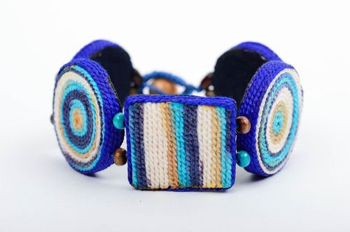 Stylish handmade ceramic bracelet clay craft fashion accessories for girls - MADEheart.com