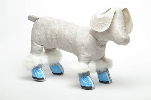 Winter dog booties - MADEheart.com