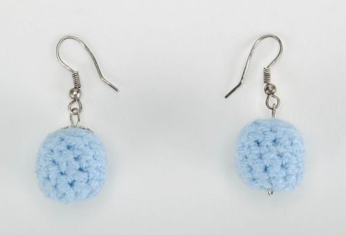 Crocheted earrings - MADEheart.com