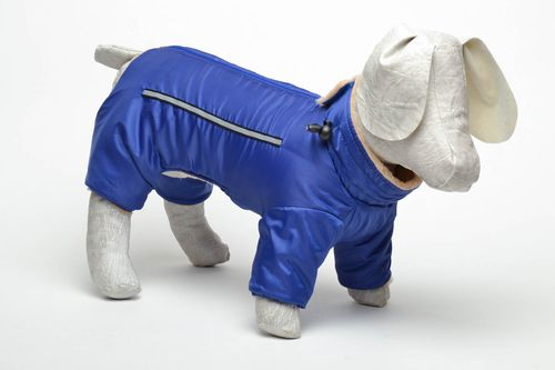 Blue dog jumper - MADEheart.com