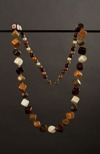 Wooden handmade necklace - MADEheart.com