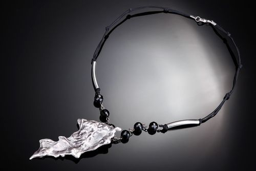 Necklace made of crystal and metal Energy - MADEheart.com