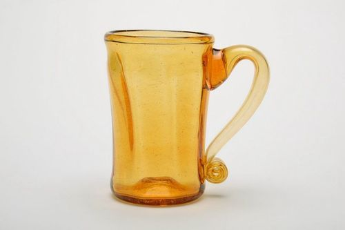 Glass beer tankard - MADEheart.com