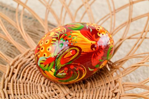 Handmade Easter eggs wooden Easter egg house and home decorative use only - MADEheart.com