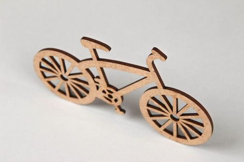 Chipboard Ancient bicycle - MADEheart.com
