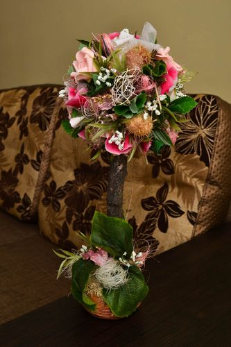 Handmade artificial flowers the topiary handmade gifts decorative use only - MADEheart.com
