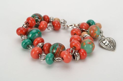 Homemade glass beads - MADEheart.com