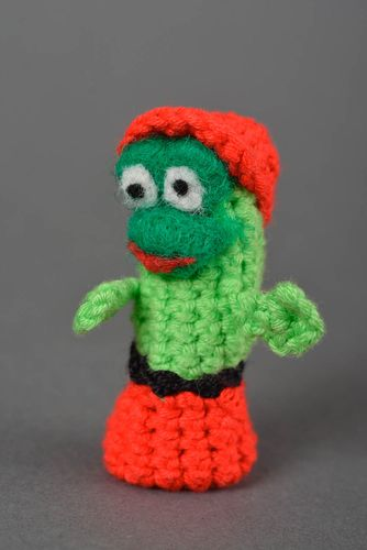 Beautiful handmade crochet toy puppetry ideas the marionette miniature toy - MADEheart.com