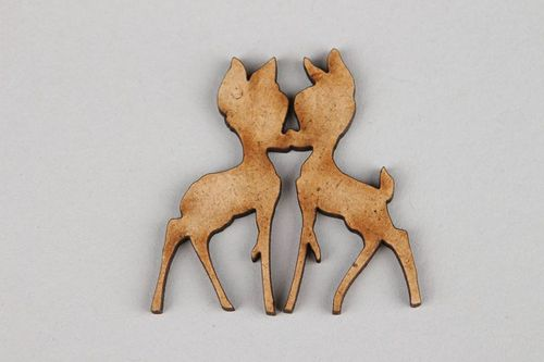 Chipboard Fawns - MADEheart.com