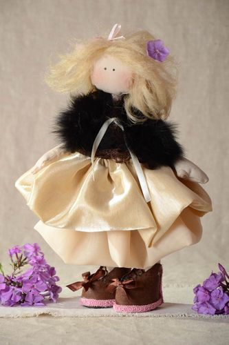 Handmade toy interior doll decor ideas gift for baby unusual toy designer doll - MADEheart.com