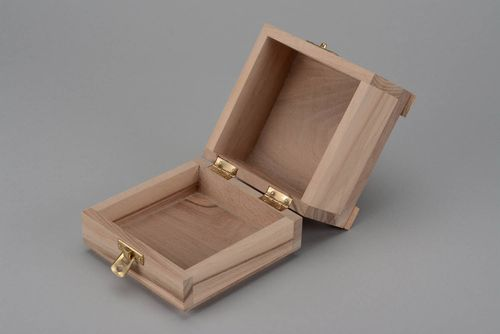Wooden blank box - MADEheart.com