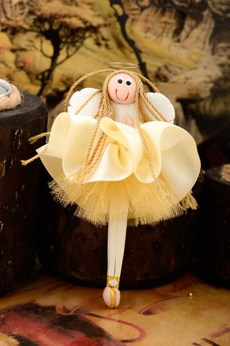 Handmade fridge magnet interior doll angel doll home ideas decorative use only - MADEheart.com