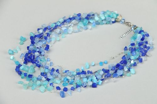 Necklace made ​​of natural stones - MADEheart.com