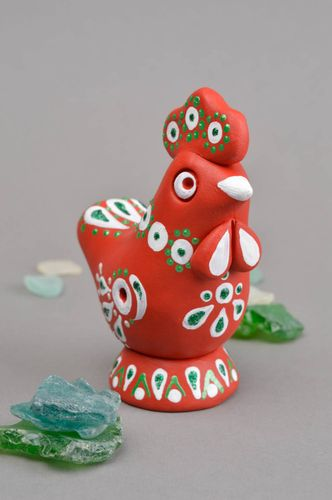 Handmade clay whistle ceramic statuette clay whistle handmade figurine for kids - MADEheart.com