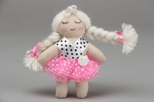 Soft fabric doll - MADEheart.com